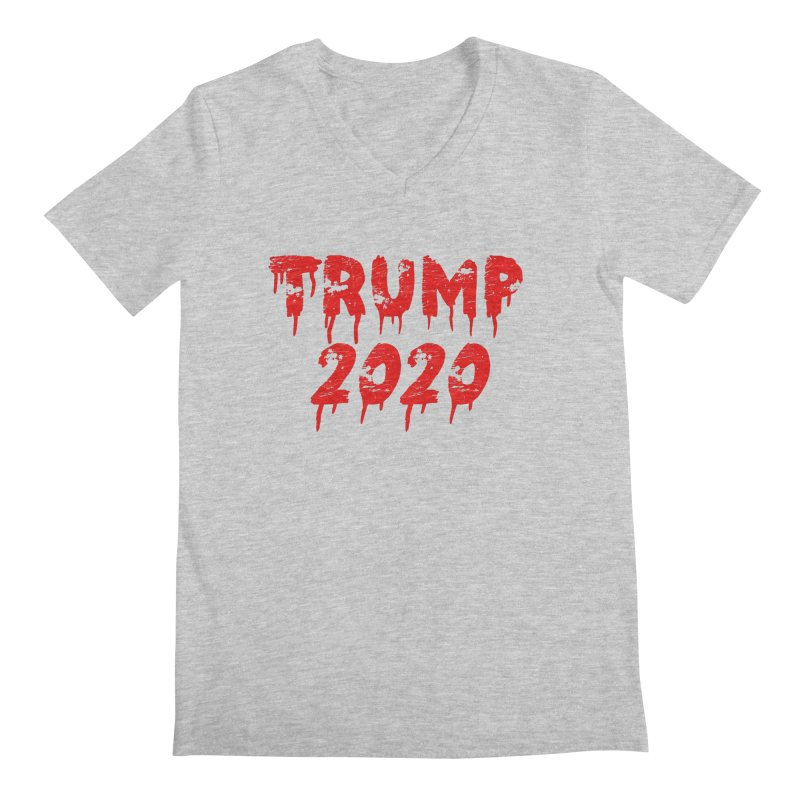 Trump 2020 Men's V-Neck by The David Feldman Show Official Merch Store