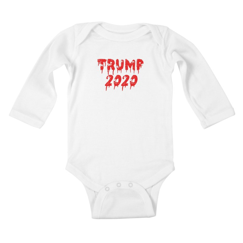Trump 2020 Kids Baby Longsleeve Bodysuit by The David Feldman Show Official Merch Store