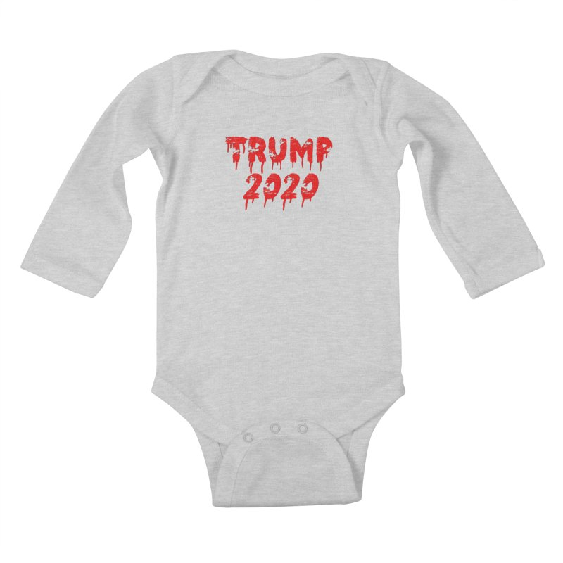 Trump 2020 Kids Baby Longsleeve Bodysuit by The David Feldman Show Official Merch Store
