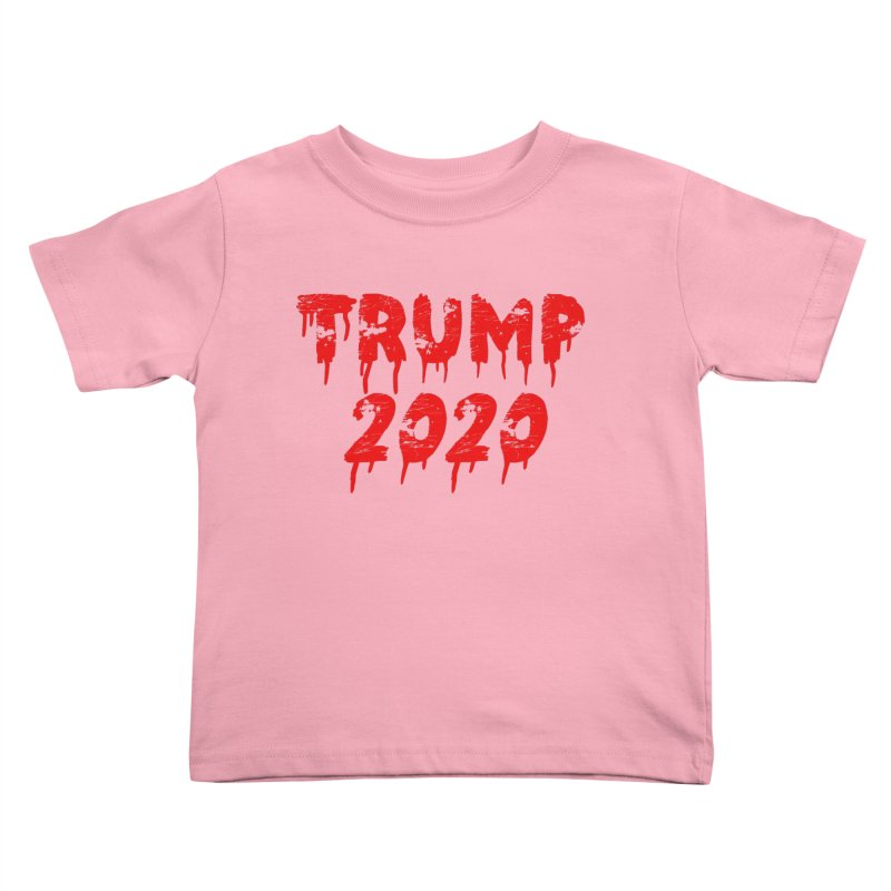 Trump 2020 Kids Toddler T-Shirt by The David Feldman Show Official Merch Store