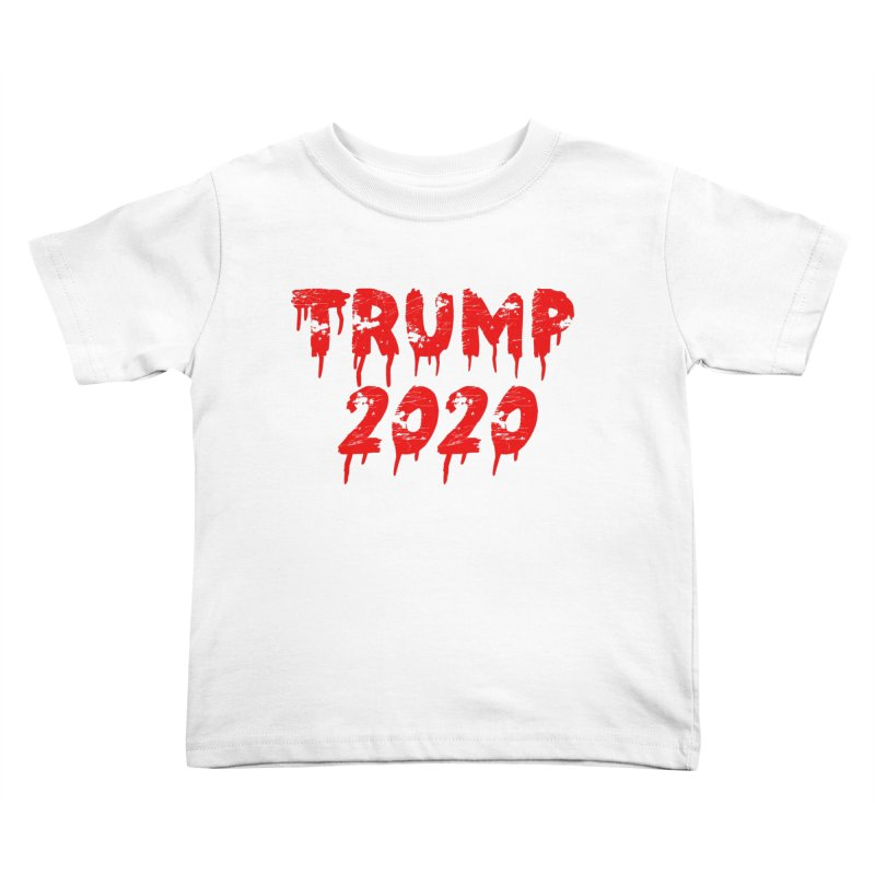 Trump 2020 Kids Toddler T-Shirt by The David Feldman Show Official Merch Store