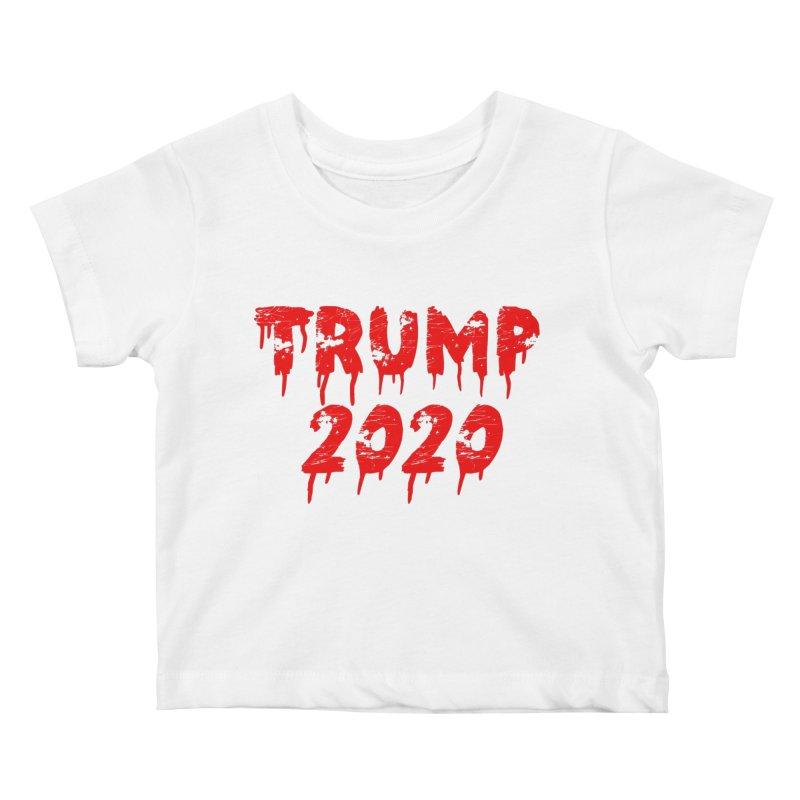 Trump 2020 Kids Baby T-Shirt by The David Feldman Show Official Merch Store