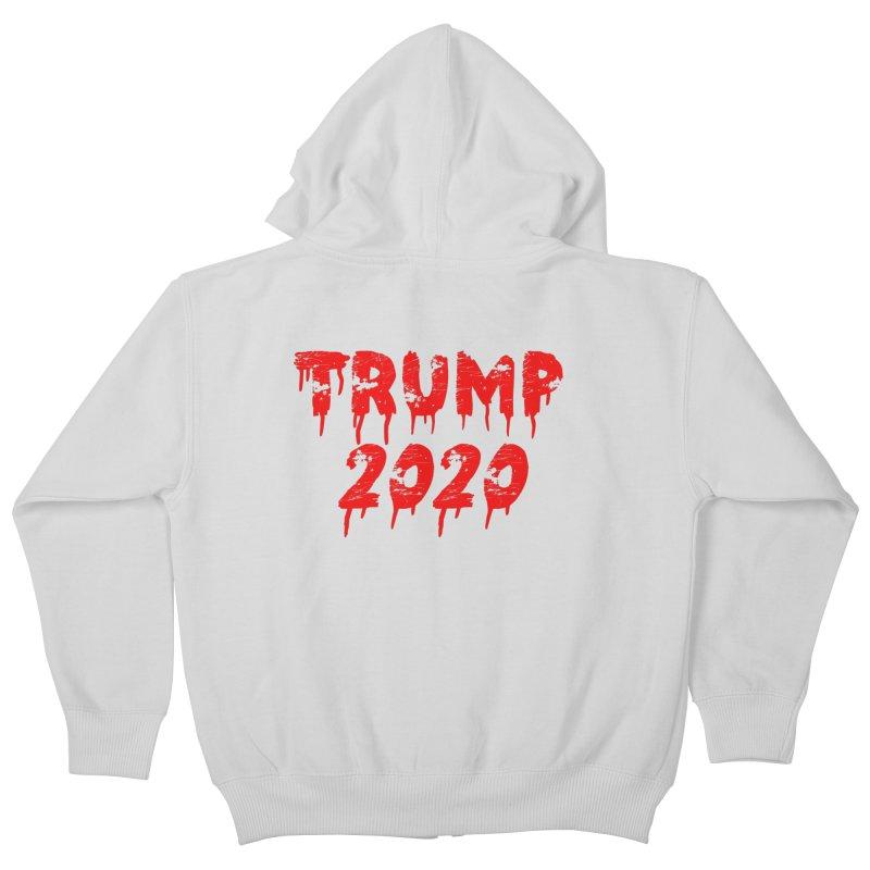 Trump 2020 Kids Zip-Up Hoody by The David Feldman Show Official Merch Store