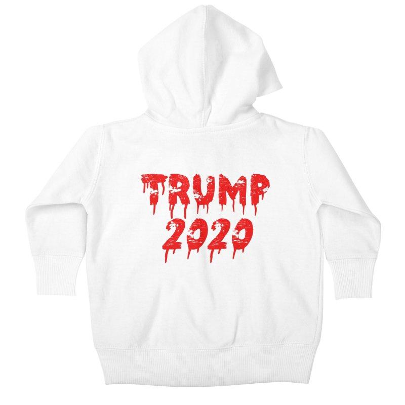 Trump 2020 Kids Baby Zip-Up Hoody by The David Feldman Show Official Merch Store