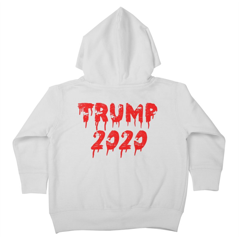 Trump 2020 Kids Toddler Zip-Up Hoody by The David Feldman Show Official Merch Store