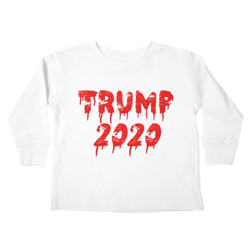 Trump 2020 Kids Toddler Longsleeve T-Shirt by The David Feldman Show Official Merch Store