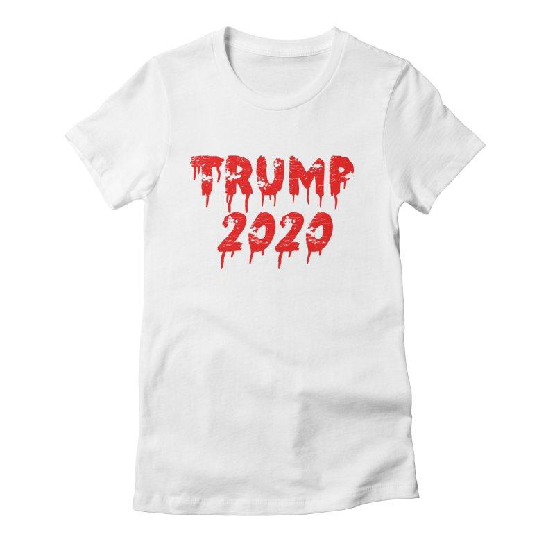 Trump 2020 Women's Fitted T-Shirt by The David Feldman Show Official Merch Store