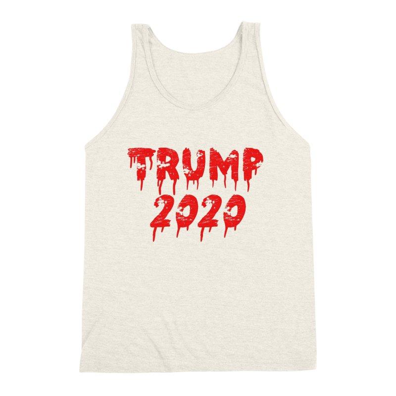 Trump 2020 Men's Triblend Tank by The David Feldman Show Official Merch Store