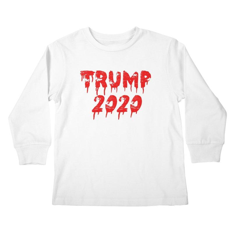 Trump 2020 Kids Longsleeve T-Shirt by The David Feldman Show Official Merch Store