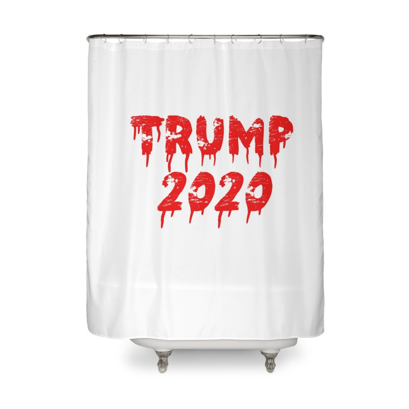 Trump 2020 Home Shower Curtain by The David Feldman Show Official Merch Store