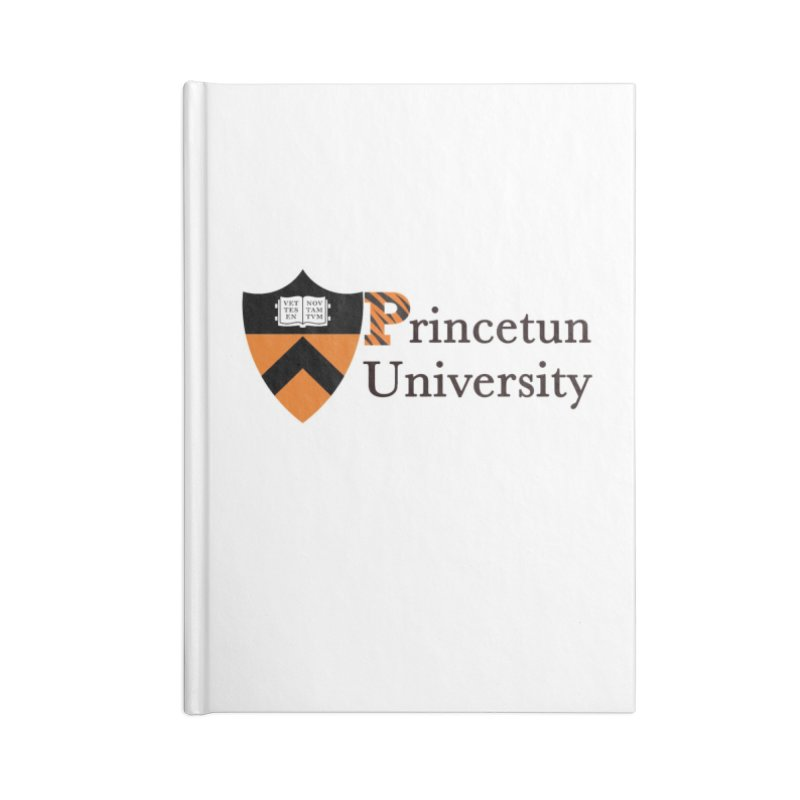 Princetun Accessories Blank Journal Notebook by The David Feldman Show Official Merch Store