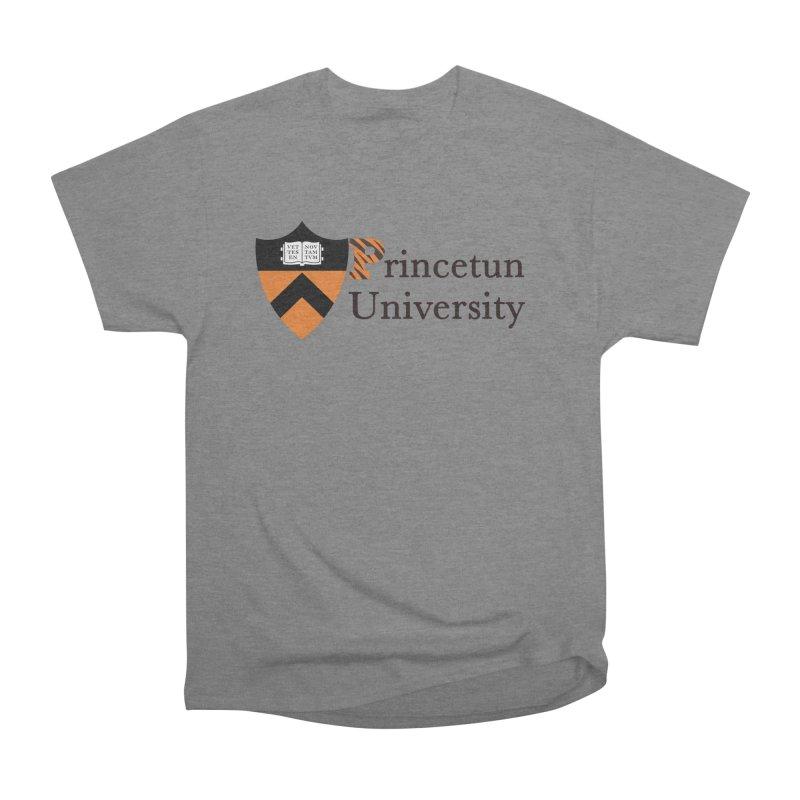 Princetun Women's Heavyweight Unisex T-Shirt by The David Feldman Show Official Merch Store