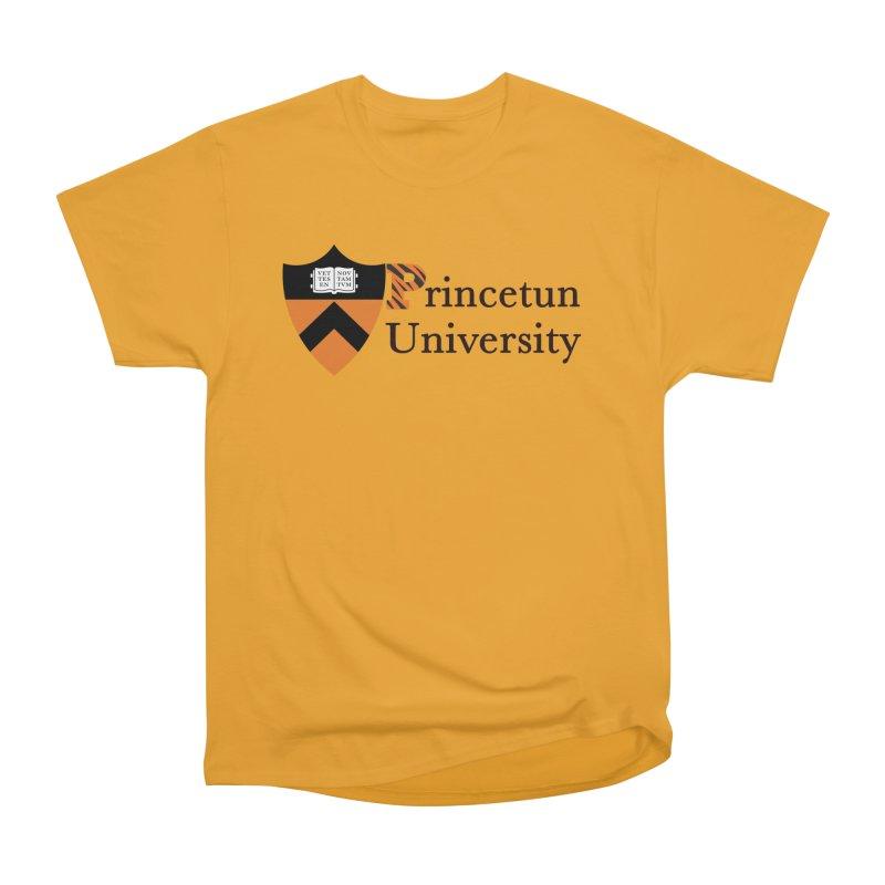 Princetun Men's Heavyweight T-Shirt by The David Feldman Show Official Merch Store