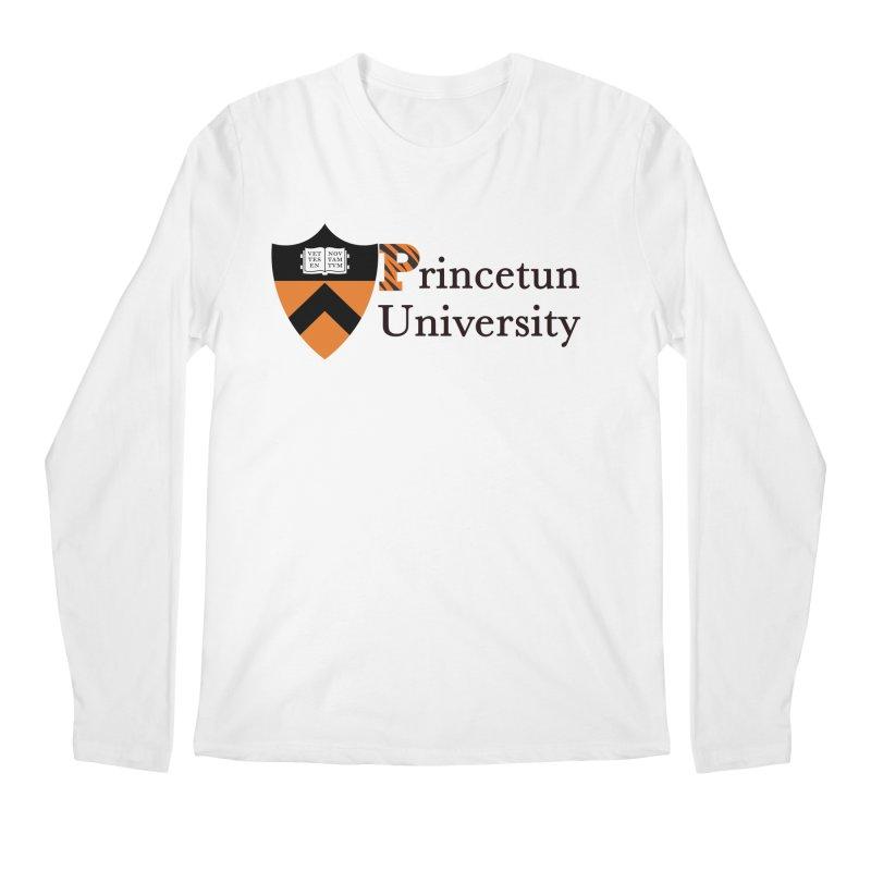 Princetun Men's Regular Longsleeve T-Shirt by The David Feldman Show Official Merch Store