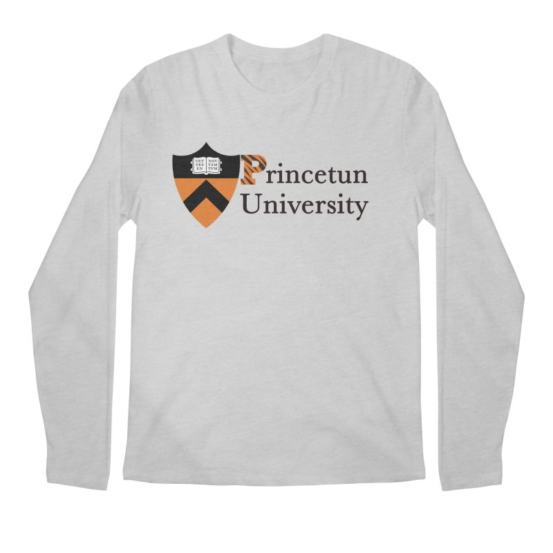 Princetun Men's Regular Longsleeve T-Shirt by The David Feldman Show Official Merch Store