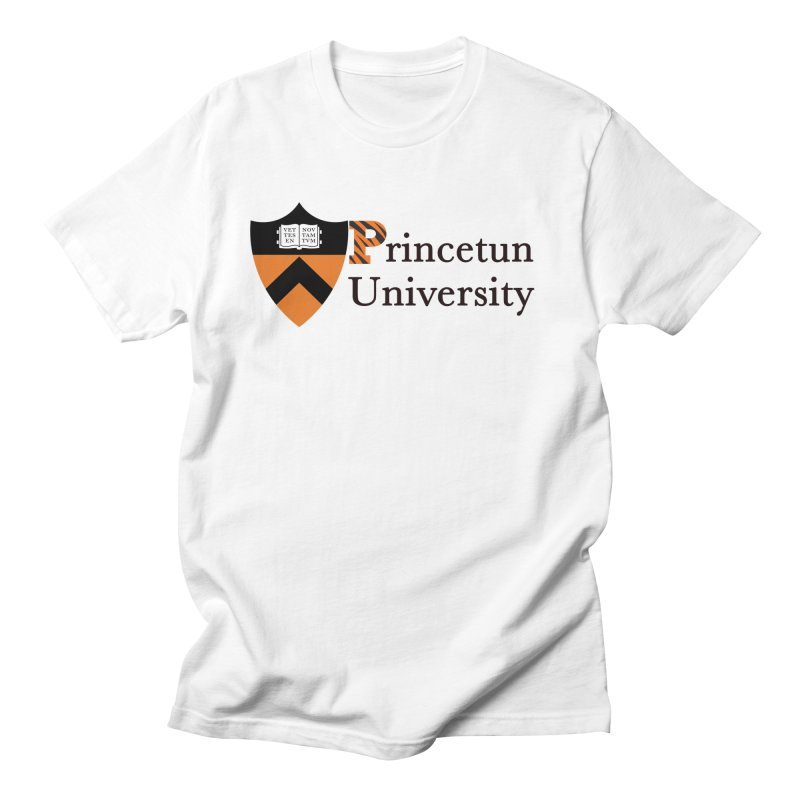 Princetun in Men's Regular T-Shirt White by The David Feldman Show Official Merch Store
