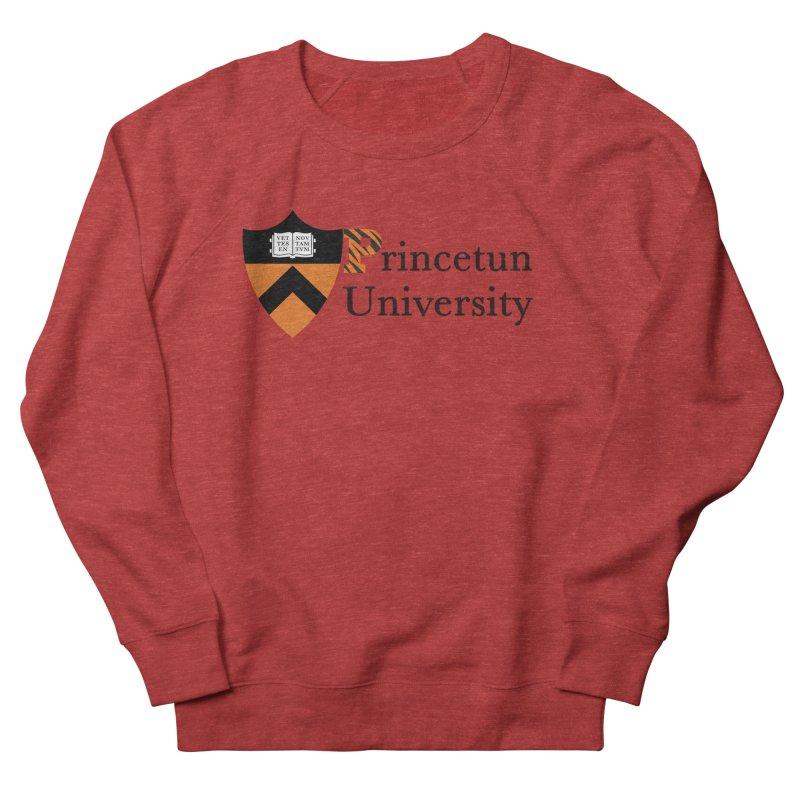 Princetun Women's French Terry Sweatshirt by The David Feldman Show Official Merch Store
