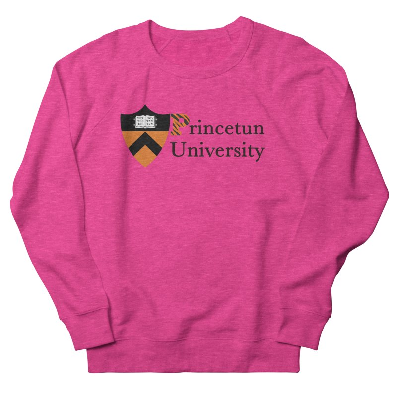 Princetun Women's French Terry Sweatshirt by The David Feldman Show Official Merch Store