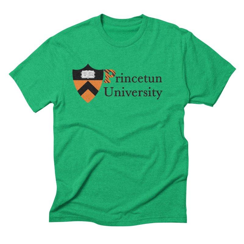 Princetun Men's Triblend T-Shirt by The David Feldman Show Official Merch Store
