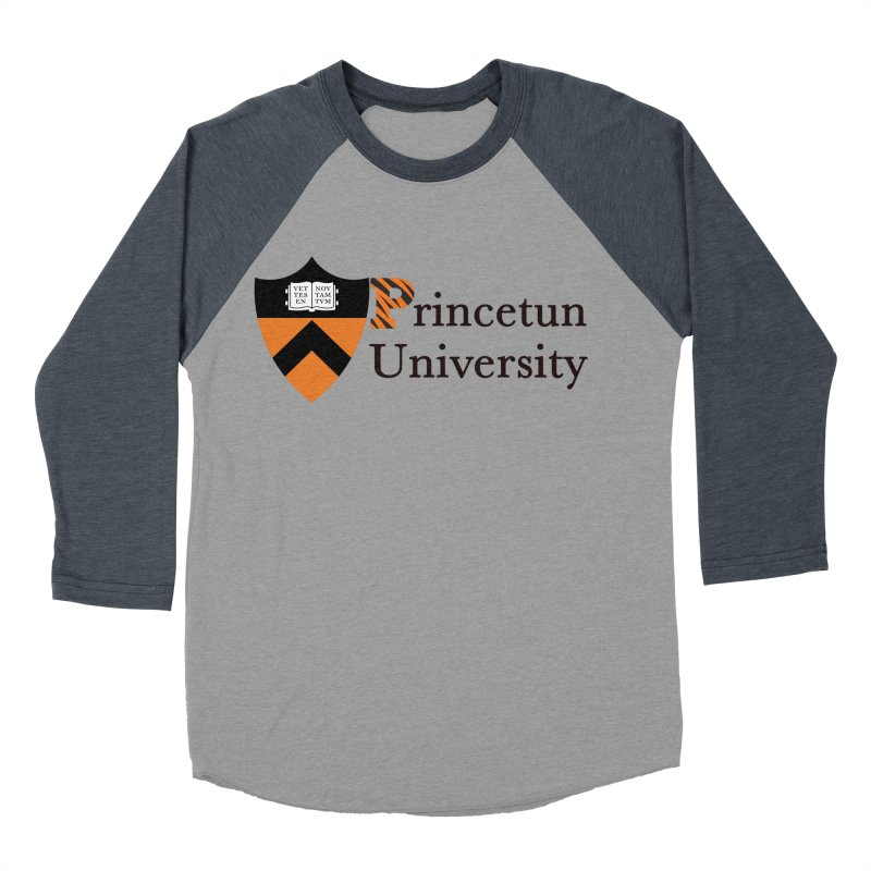 Princetun Women's Baseball Triblend T-Shirt by The David Feldman Show Official Merch Store