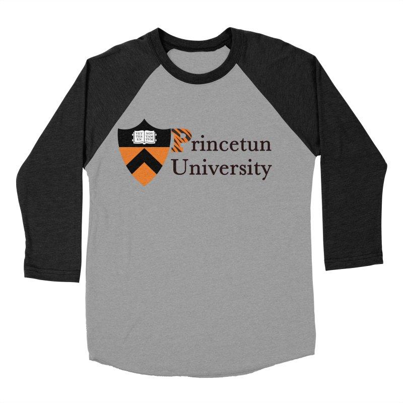 Princetun Men's Baseball Triblend T-Shirt by The David Feldman Show Official Merch Store