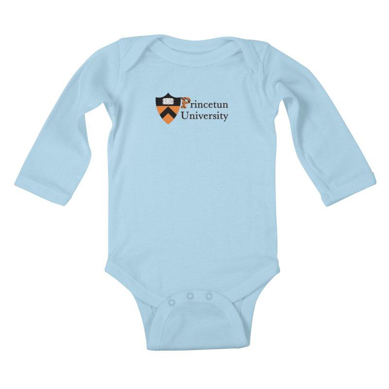 Princetun Kids Baby Longsleeve Bodysuit by The David Feldman Show Official Merch Store