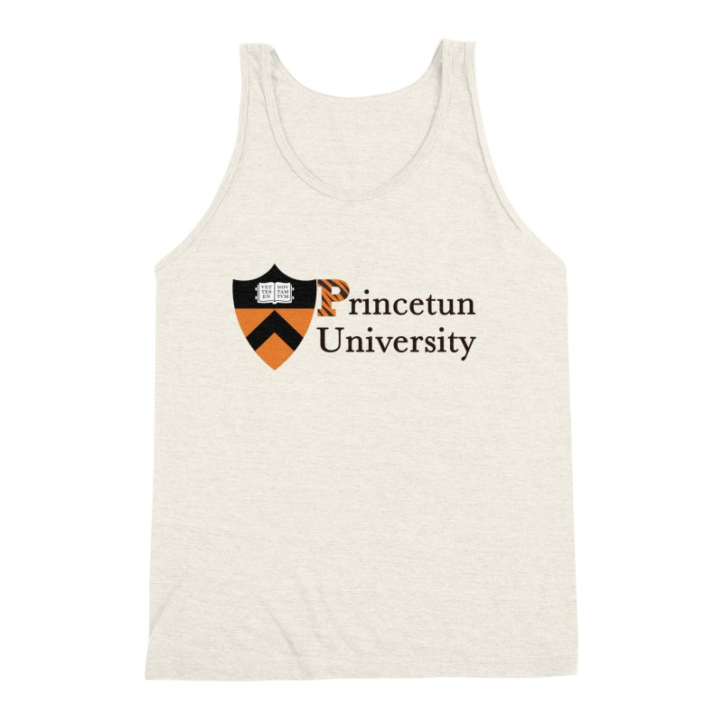 Princetun Men's Triblend Tank by The David Feldman Show Official Merch Store