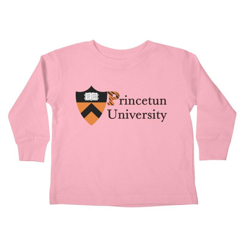 Princetun Kids Toddler Longsleeve T-Shirt by The David Feldman Show Official Merch Store
