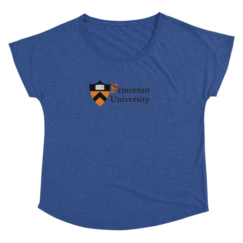 Princetun Women's Dolman Scoop Neck by The David Feldman Show Official Merch Store