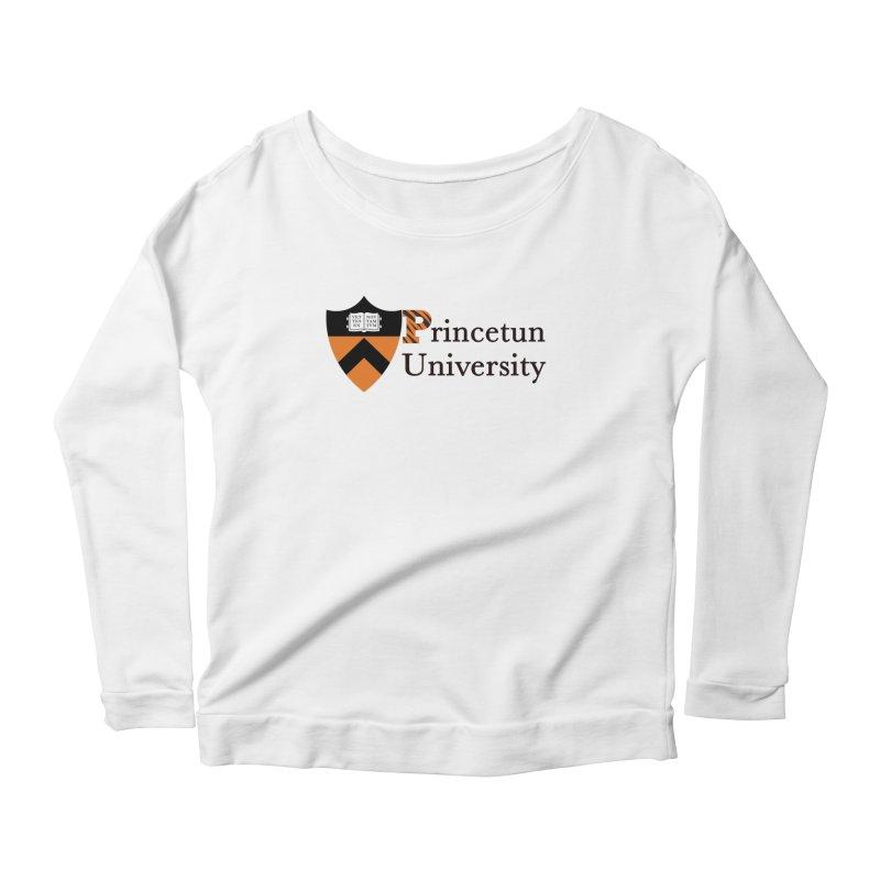 Princetun Women's Scoop Neck Longsleeve T-Shirt by The David Feldman Show Official Merch Store
