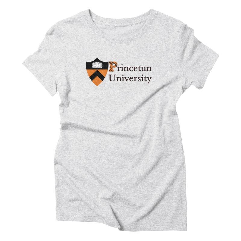 Princetun Women's Triblend T-Shirt by The David Feldman Show Official Merch Store