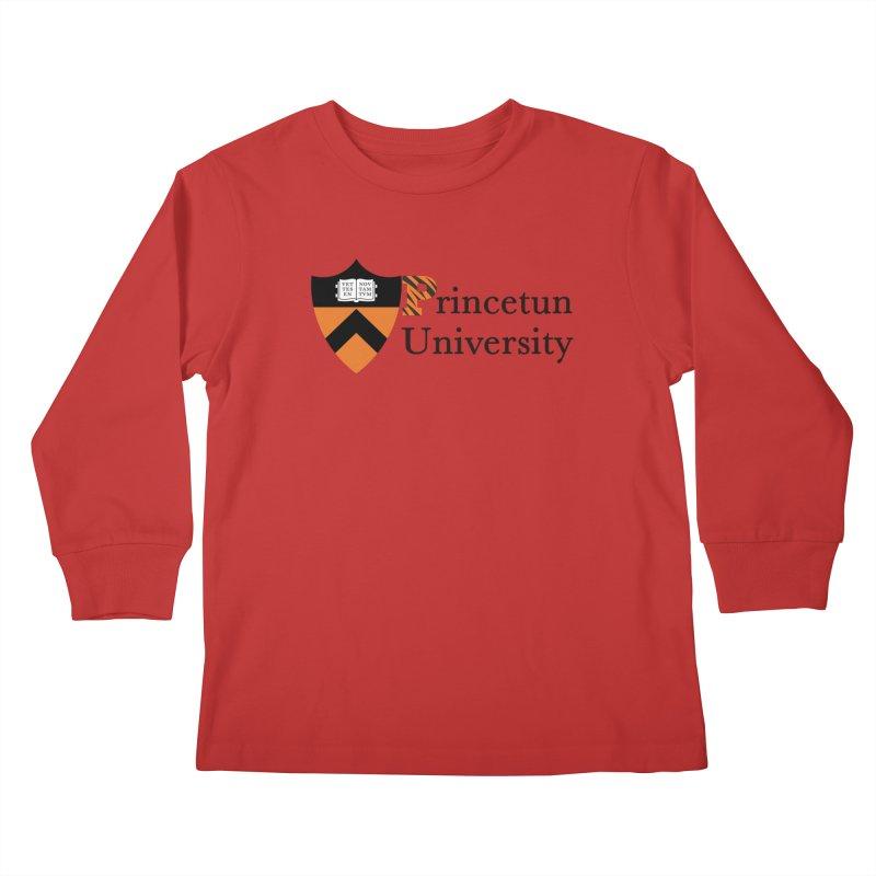 Princetun Kids Longsleeve T-Shirt by The David Feldman Show Official Merch Store
