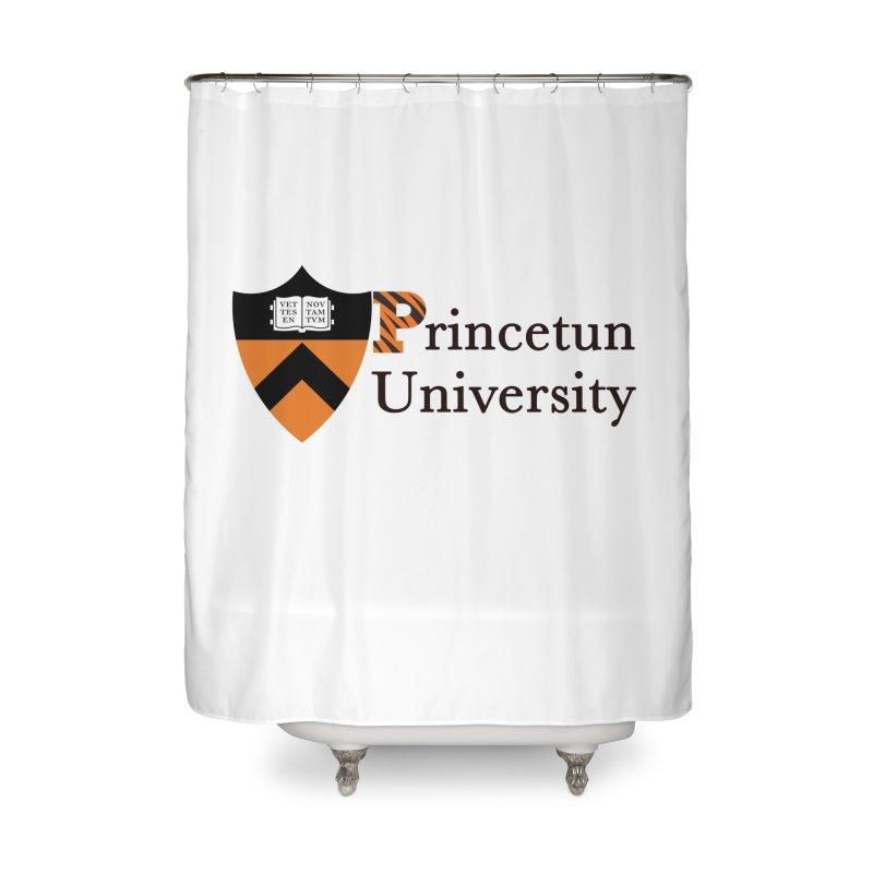 Princetun Home Shower Curtain by The David Feldman Show Official Merch Store