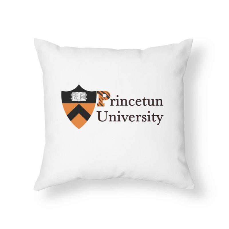 Princetun Home Throw Pillow by The David Feldman Show Official Merch Store