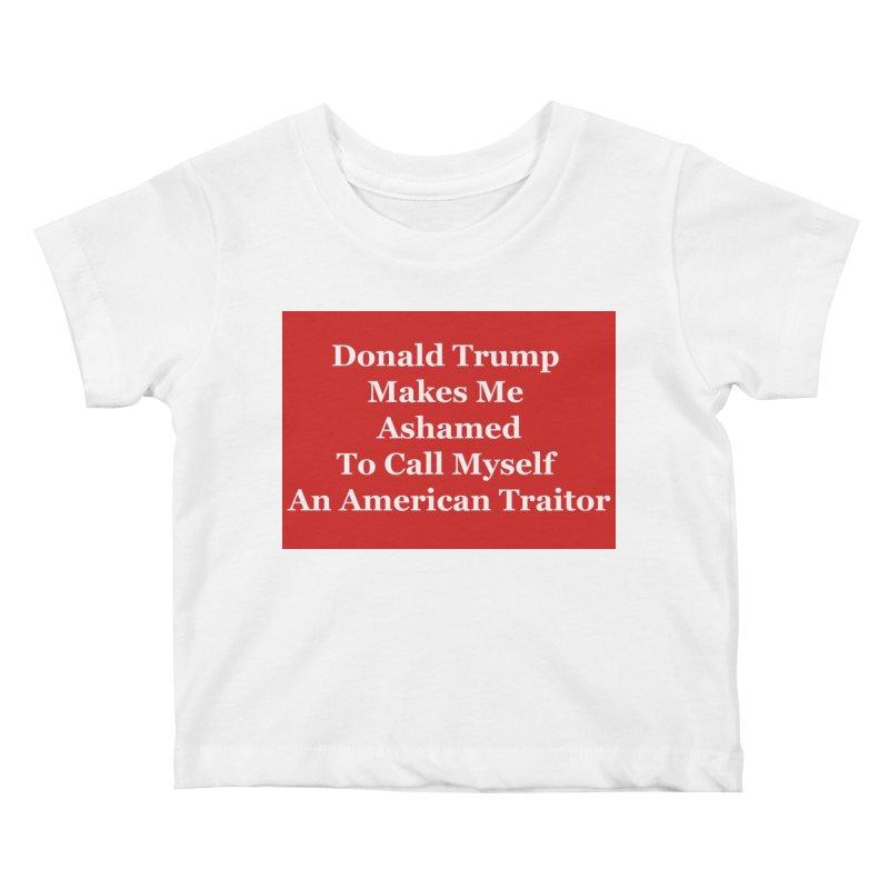 Traitor Kids Baby T-Shirt by The David Feldman Show Official Merch Store