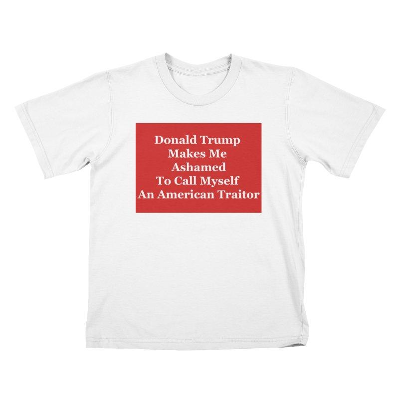 Traitor Kids T-Shirt by The David Feldman Show Official Merch Store