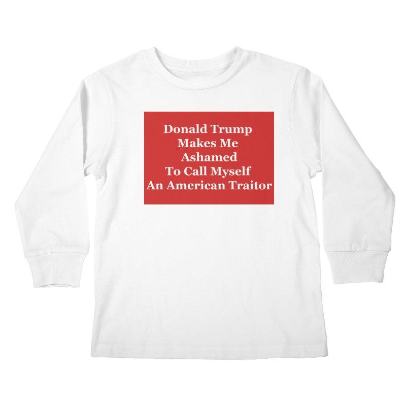 Traitor Kids Longsleeve T-Shirt by The David Feldman Show Official Merch Store