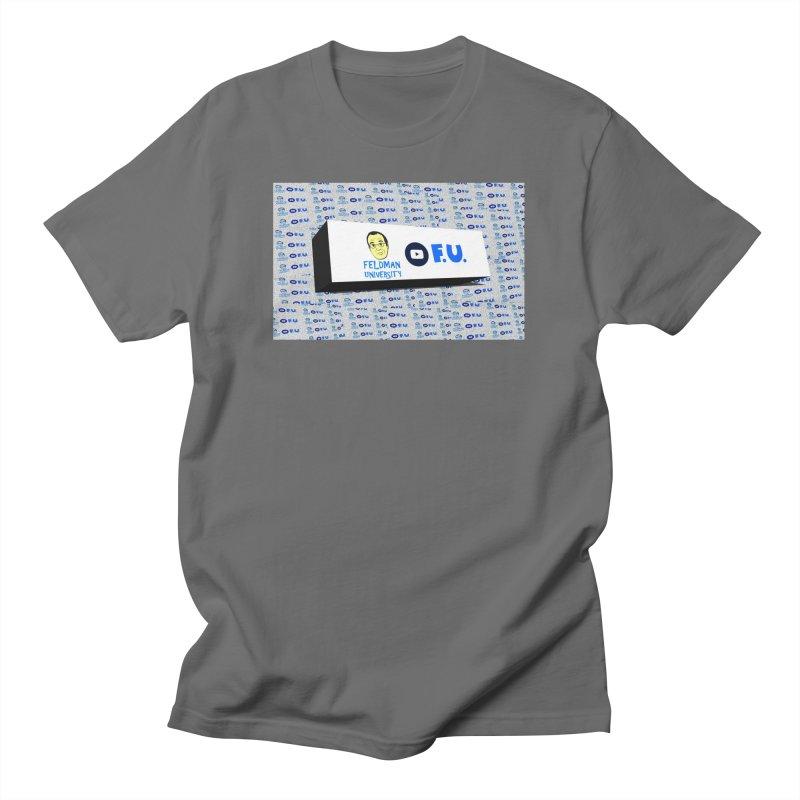 Feldman University Men's T-Shirt by The David Feldman Show Official Merch Store
