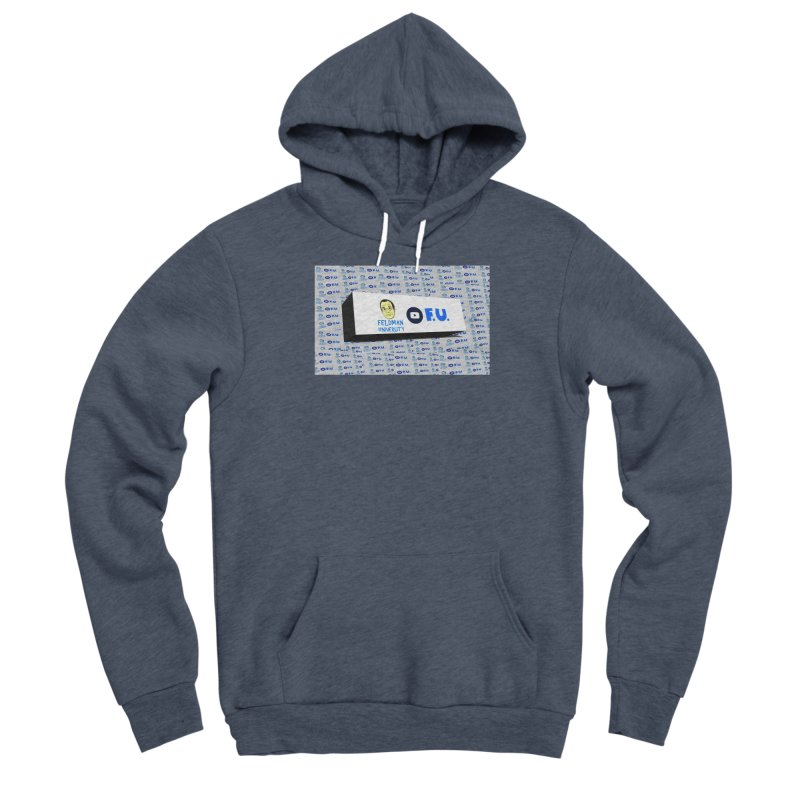 Feldman University Women's Sponge Fleece Pullover Hoody by The David Feldman Show Official Merch Store