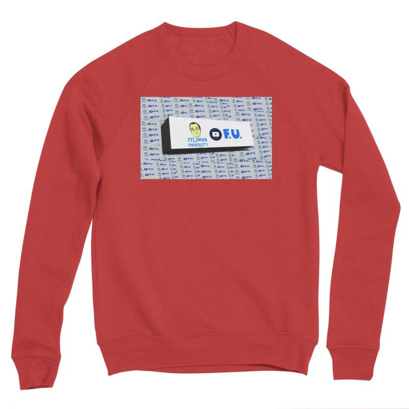 Feldman University Women's Sponge Fleece Sweatshirt by The David Feldman Show Official Merch Store