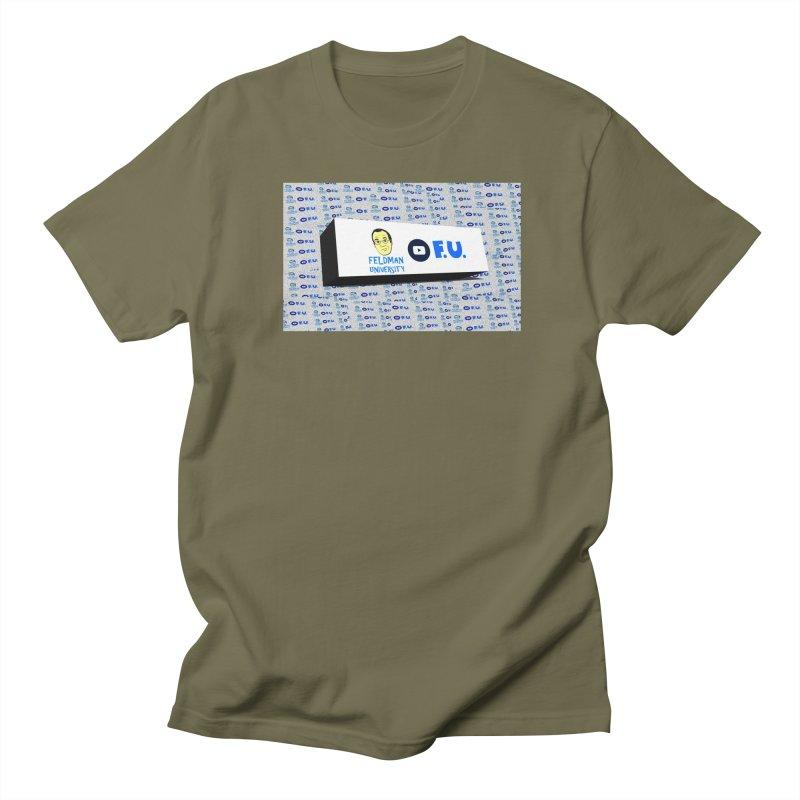 Feldman University Men's Regular T-Shirt by The David Feldman Show Official Merch Store