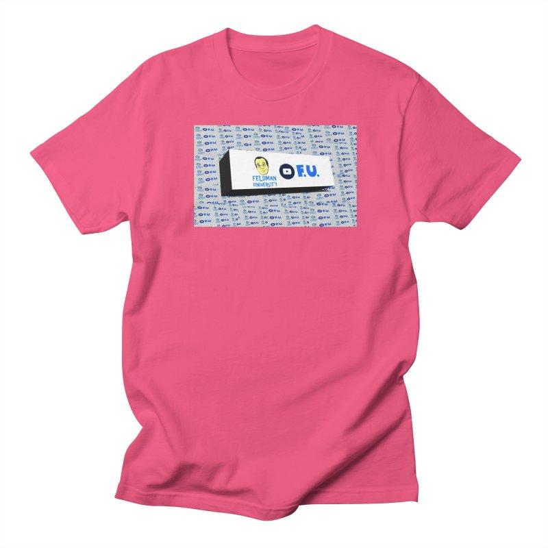 Feldman University Women's Regular Unisex T-Shirt by The David Feldman Show Official Merch Store