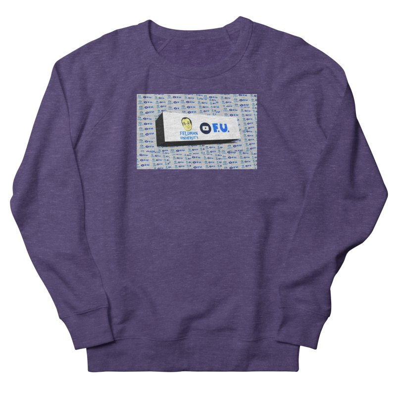 Feldman University Men's French Terry Sweatshirt by The David Feldman Show Official Merch Store