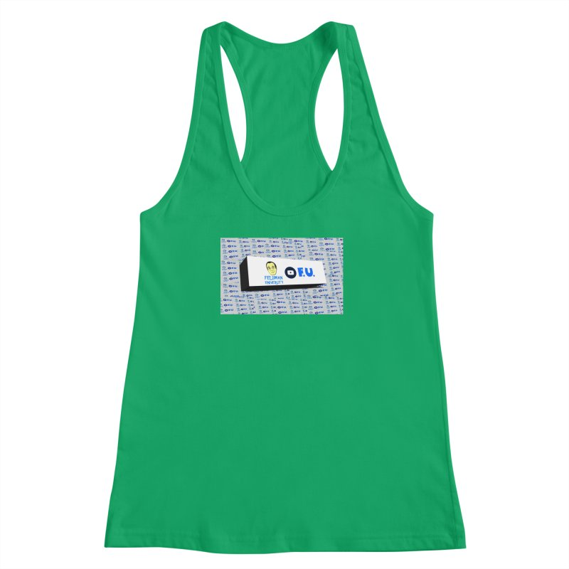 Feldman University Women's Racerback Tank by The David Feldman Show Official Merch Store
