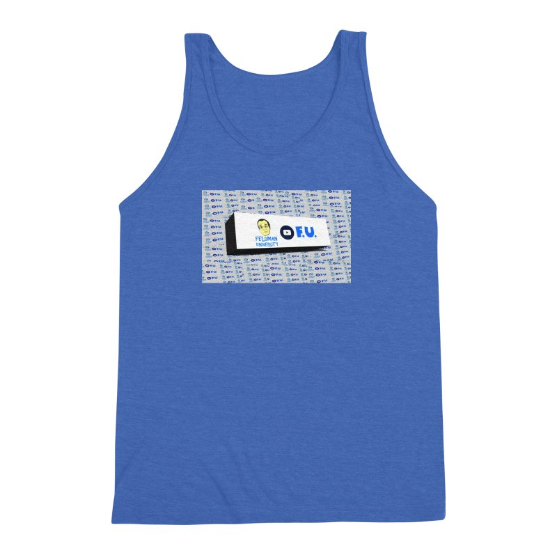 Feldman University Men's Triblend Tank by The David Feldman Show Official Merch Store