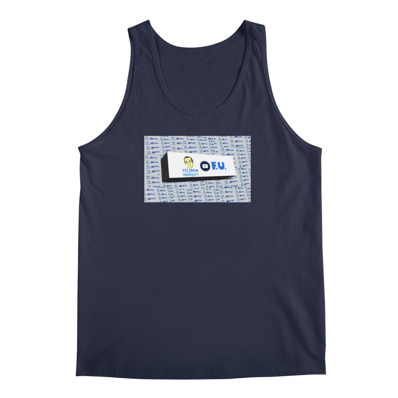 Feldman University Men's Regular Tank by The David Feldman Show Official Merch Store
