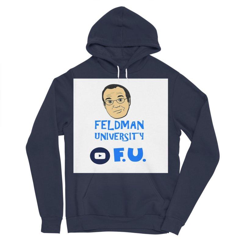 Feldman University Men's Sponge Fleece Pullover Hoody by The David Feldman Show Official Merch Store