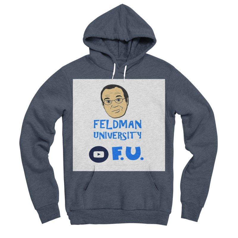 Feldman University Women's Sponge Fleece Pullover Hoody by The David Feldman Show Official Merch Store