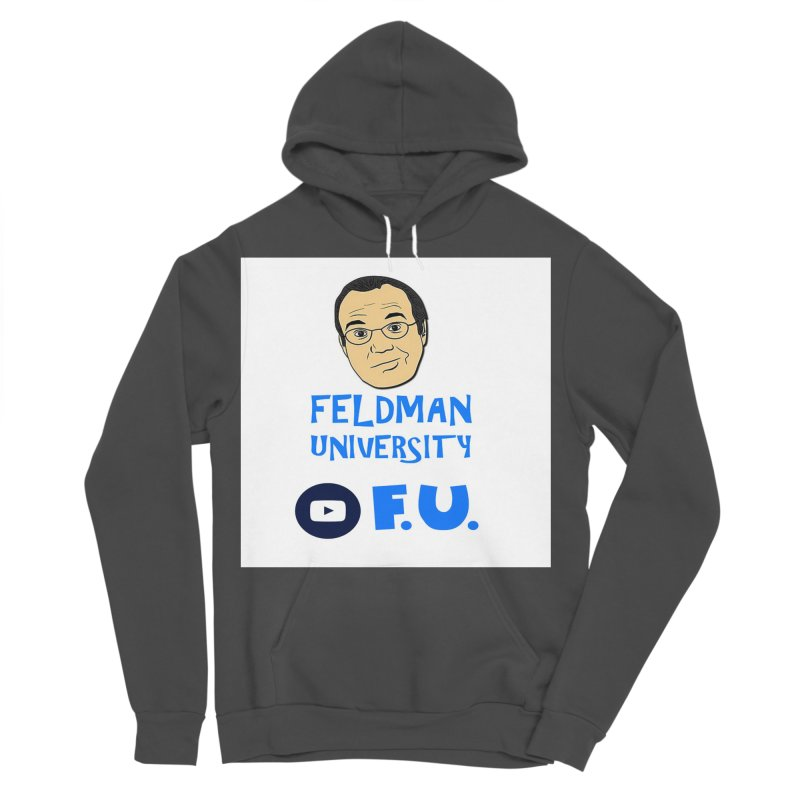 Feldman University Men's Sponge Fleece Pullover Hoody by The David Feldman Show Official Merch Store