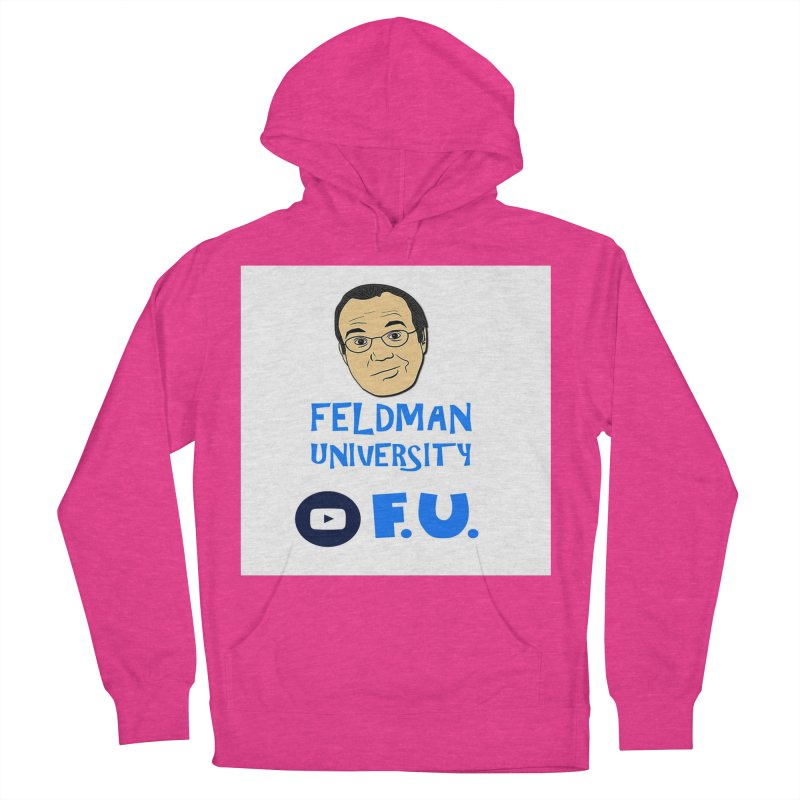 Feldman University Men's French Terry Pullover Hoody by The David Feldman Show Official Merch Store